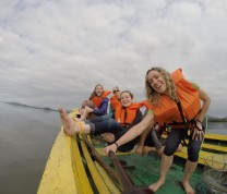 GoPro International Service Learning Program Boat Fishing