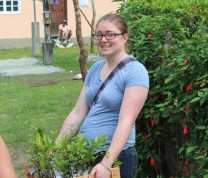 International Service Learning Planting Project