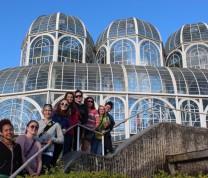Jardim Botânico com amigos da BE